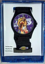 LA Lakers Kobe Bryant Wristwatch (Official NBA Licensed) Fast Strap Velcro NEW
