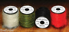 UNI MOHAIR YARN    SPOOL    -- Fly Tying  Great Colors