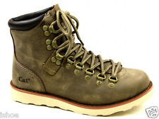 CATERPILLAR CAT KLINE BROWN LEATHER CASUAL LACE UP OUTDOOR ANKLE BOOTS SIZE 3-8