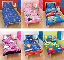 Kids Character and Generic Single Duvet Covers - Childrens Bedding New