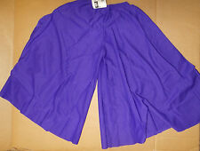 NWT PRAISE LITURGICAL DANCE Palazzo Pants purple child Sizes Praisewear crepe
