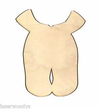 Infant Jumper Unfinished Flat Wood Shape Cut Outs IJ5087 Variety Sizes Crafts