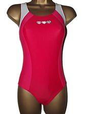 LOVELY NEW GIRLS SWIMMING COSTUME SWIMSUIT RED / WHITE HEARTS SCHOOL 2-16 years