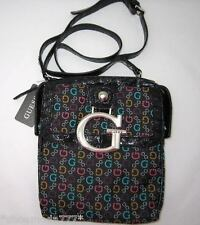 GUESS by Marciano Primary Messenger Crossbody Hip Bag Purse Signature Canvas New