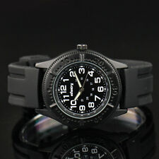 New INFANTRY Mens Army Sports Quartz Wrist Watch Black Rubber Strap Cost on sale