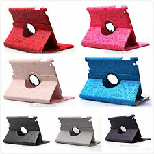 360 Degrees Rotating Magnetic PU Leather Case Smart Cover Stand For ipad 2 3 4
