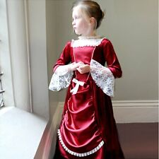 Victorian Edwardian Lady fancy dress up BNWT 3-11yrs Downton Abbey Girls costume