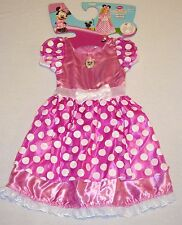 DISGUISE DISNEY MINNIE MOUSE TODDLER CHILDS GIRLS COSTUME NWT