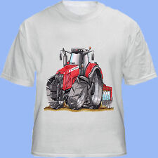 KOOLART  MASSEY FERGUSON T-Shirt  CAN BE PERSONALISED KIDS/MENS/LADIES/ADULT