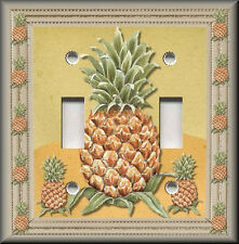 Light Switch Plate Cover - Pineapple - Kitchen Fruit Home Decor