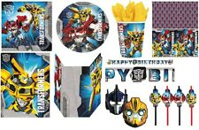OFFICIAL - TRANSFORMERS PRIME KIDS BOYS PARTY RANGE FILLERS - ALL IN 1 LISTING!