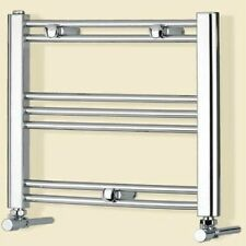 Romano Small Electric Dual Fuel Chrome Heated Towel Radiator Rail Caravan BTU