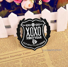EXO XOXO FIRST YEAR KISS HUG EXO-M EXO-K KPOP PATCH PIN BADGE NEW