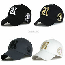 Big size Mens Ball cap Big hats L,XL size big hat with R letter