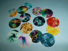 PRE CUT ONE INCH SWIRLY DESIGN LIGHT PATTERNS IMAGES FREE SHIPPING!