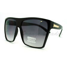 Super Oversized Sunglasses Unisex Flat Top Square Frame Fashion Wear