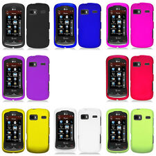 For LG Rumor Reflex Xpression Rubberized Hard Matte Case Snap On Cover Accessory