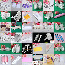 Cake Tools Fondant Sugarcraft Cutters Decorating Slicone Mat Mould