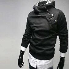 New Mens Slim Fit Sexy Top Designed Hoodies Jackets Coats M-3XL