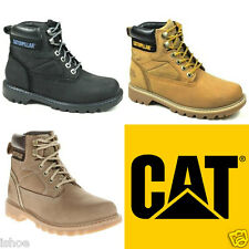 Caterpillar Cat Willow Leather Walking Hiking Outdoor Ankle Boots Size 4-8 New