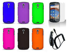 Car Charger + Hard Case for Samsung Epic 4G Galaxy S Pro SPH-D700 / Epic D700