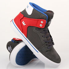 Supra Kids Vaider Dark Shadow Athletic Red White