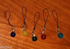 Apple charm dangle for cell, camera. MP3, necklace or zipper pull