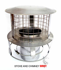 Flexible Liner Chimney Pot hanging Cowls Stainless Steel