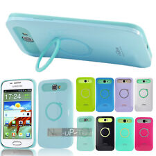 Dual Color Hybrid Back Case Cover Stand For Samsung galaxy Trend I699 S7562i
