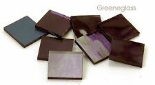 Lavender Mirror Mosaic Glass Tile * Cut to Order Shapes * Package