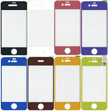 Color Screen Protector Film for Apple iPhone4 4S Clear Cover new bulk Korea