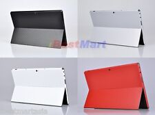 Carbon Fiber Body Skin Sticker Decals Screen Protector Microsoft Surface RT Pro