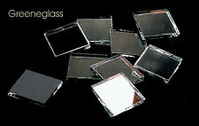 Silver Mirror Mosaic Glass Tile * Cut to Order Shapes * Half Package