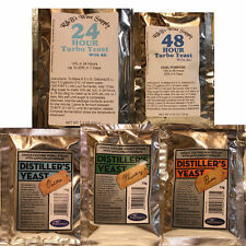 Distillers Yeast One Price Your Choice 24HR or 48HR Turbo, Vodka, Whisky or Rum