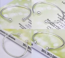 wholesale jewelry solid Silver HIGH QUALITY Bangle/Bracelet +gift Box925