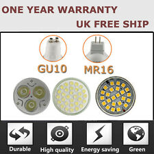 12X GU10/MR16 21/38/48/60/80/3W/4W/6W/9W/15W LED SMD BULBS SPOT LIGHTS BULB LAMP
