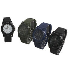 New Solider Military Army Sport Style Luminous Quartz Wrist Watch 4 Colors
