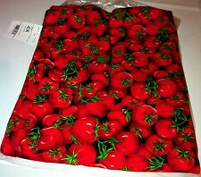 White Swan Draw String Waist Chef Pants Tomatoes