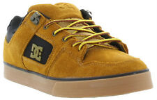 DC Pure Slim Water Resistant Suede Mens Skate Fashion Trainers Sizes UK 7 - 12