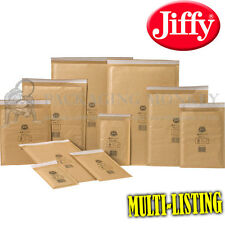 GENUINE GOLD JIFFY PADDED ENVELOPES BAGS *ALL SIZES*