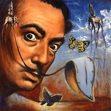 Salvador Dali Oil Painting Artwork Stretched Canvas Giclee Print Surrealism