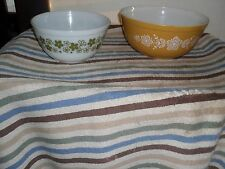 YOUR CHOICE: VINTAGE PYREX REPLACEMENT MIXING/ NESTING BOWLS. OVENWARE