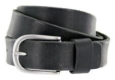 "Men's Italian Genuine Leather Dress Casual Golf Belt Made in Italy 1-3/8"" Wide"