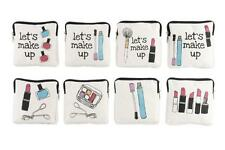 "CGB - ASSORTED ""LETS MAKE UP"" Make Up Bag - Travel Bag Funky Girlie Gift NEW"
