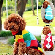 Hot Sales pet dog cat clothing sweater appreal Dog Clothes Winter Jacket Jumper