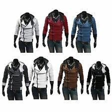 USA Seller Assassin's Creed 3 Hoodie Costume Jacket Cosplay PK2 Fast Shipping