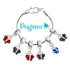 Pugster Jewelry Butterfly Dangle European Beads Fit All Brand Charm Bracelet L93