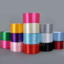 "25 Yards 2"" 50mm Satin Ribbon Bow Wedding Party Supply Craft Sewing Decorations"
