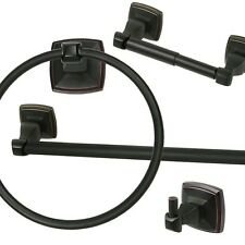 Classic Hardware Bathroom Accessory Set - Oil Rubbed Bronze Bath Accessories