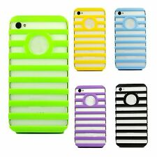Fashion Cute High Ladder Shape Hollow Case Cover Skin For iPhone 4 4G 4GS 4S New